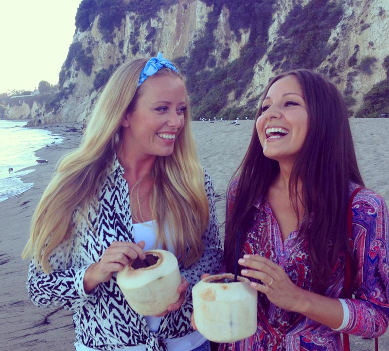 Sonia Huanca Vold og Gamst i Malibu