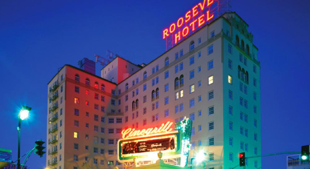 Roosevelt Hotel front