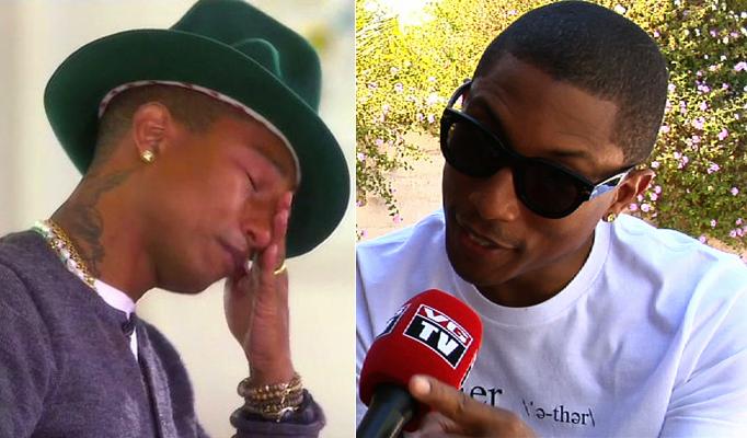 Pharrell om taarene