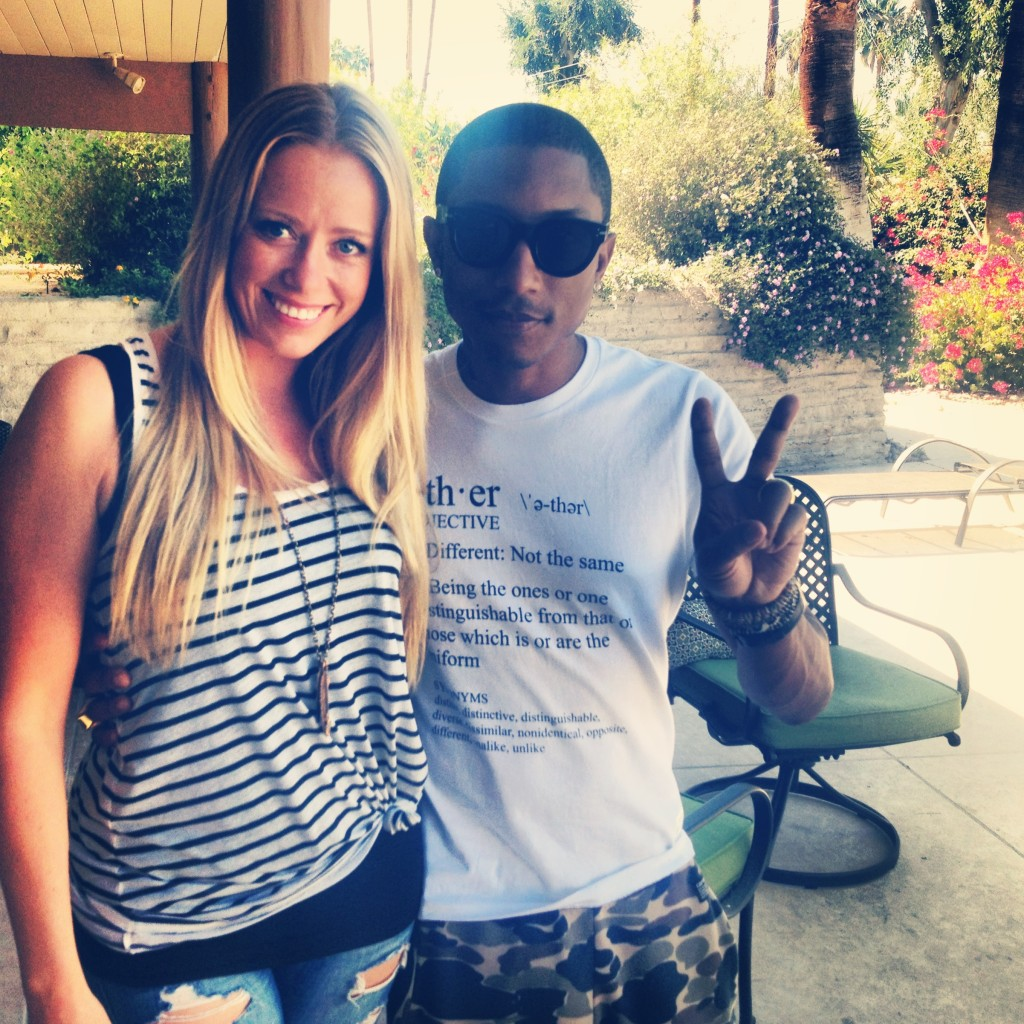 pharrell og meg