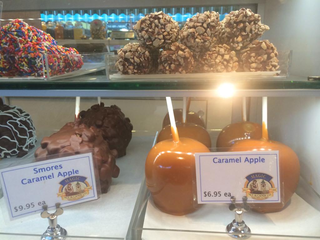 caramel apple farmers market
