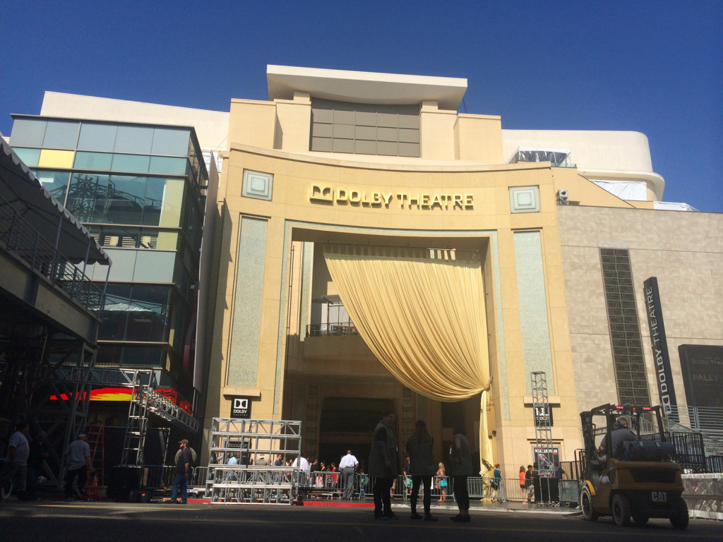 dolby theatre red carpet merete