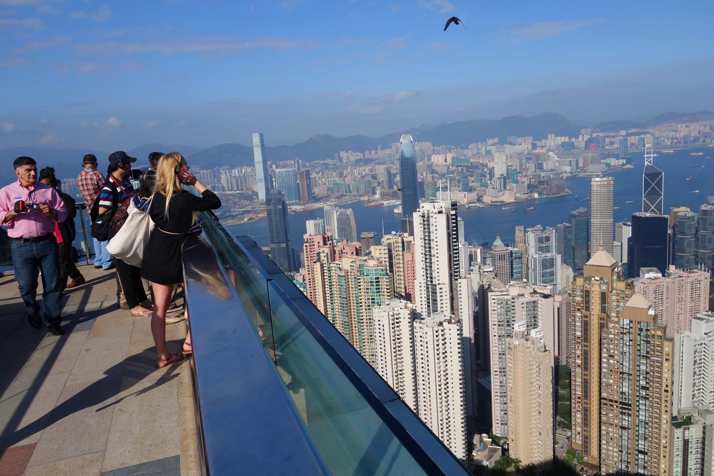 hong kong tram the peak