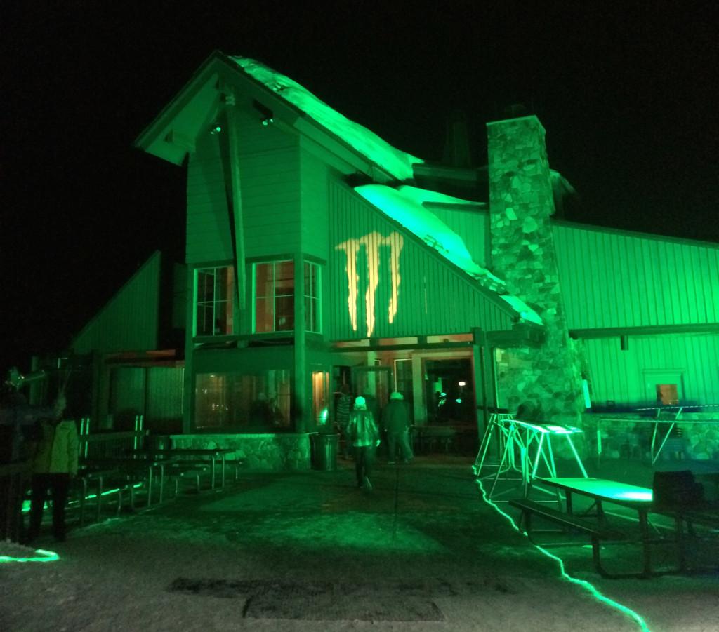 monster house top of aspen