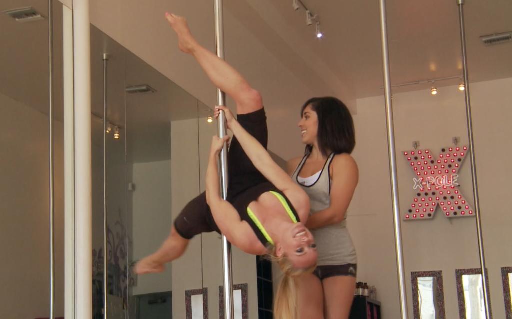 Merete Gamst poledance