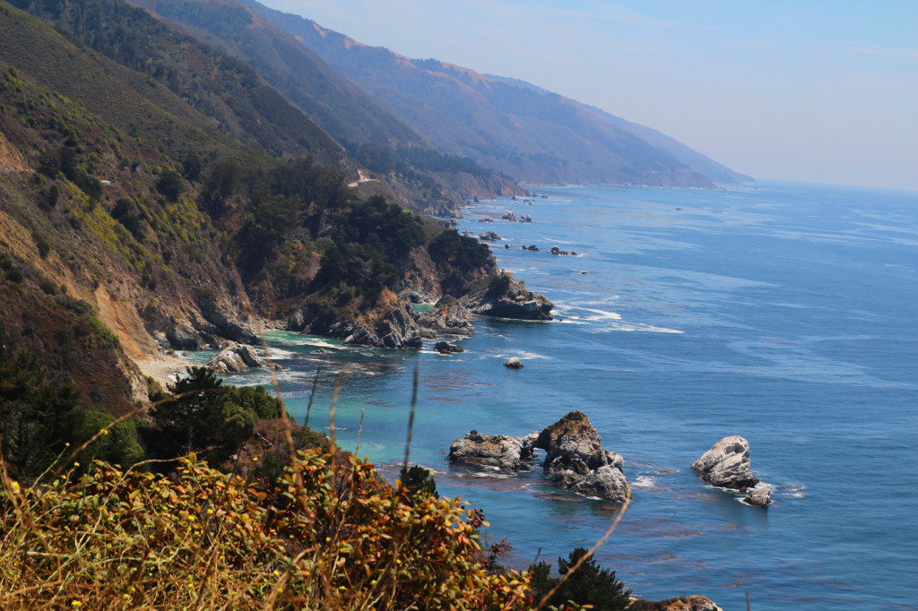 big sur view amazing
