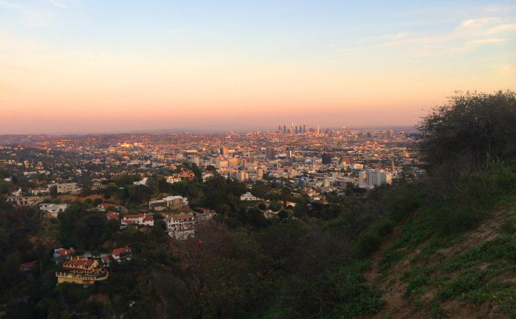 runyon canyon view LA