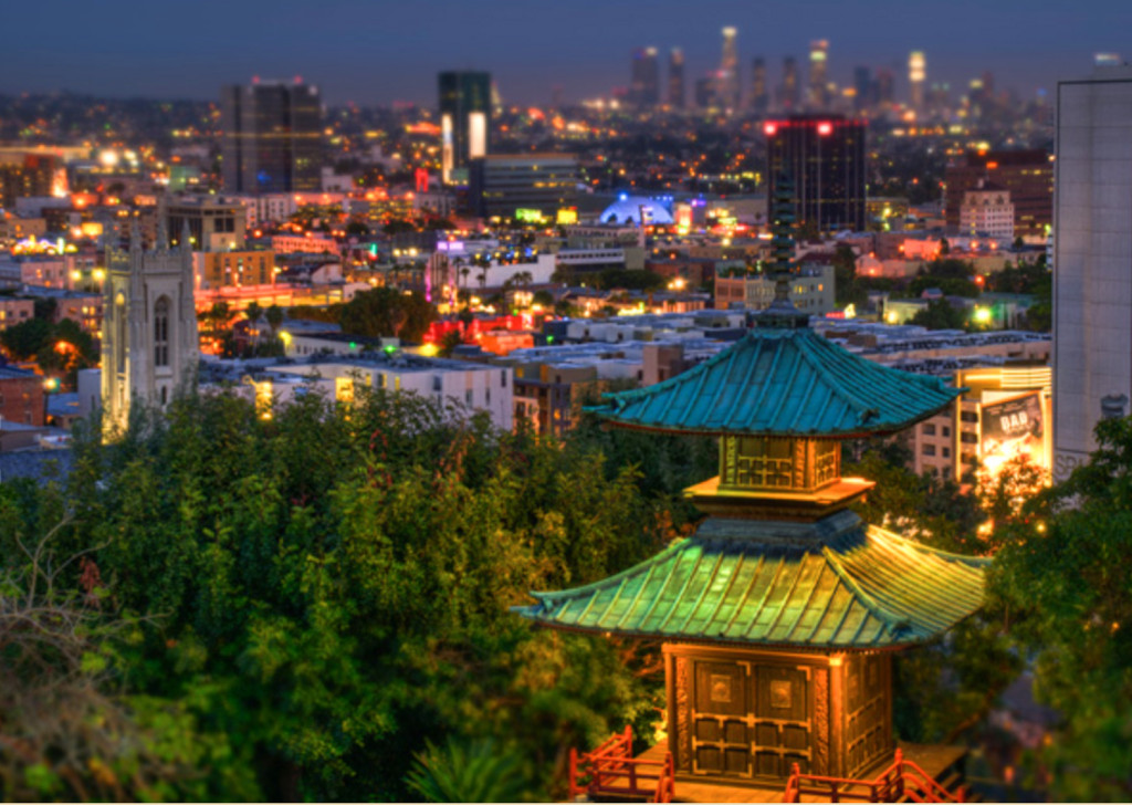 yamashiro hollywood view
