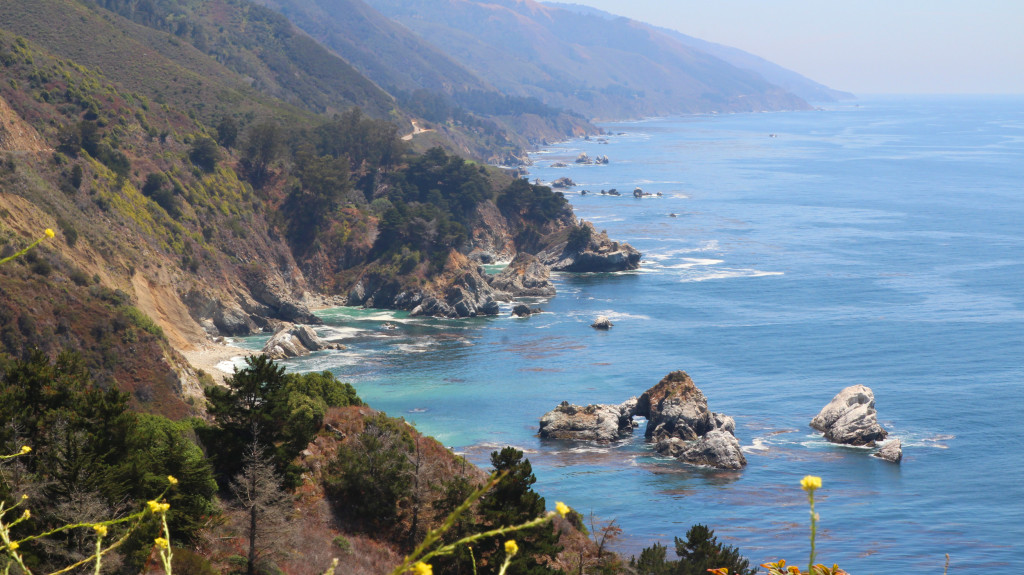 big sur amazing view