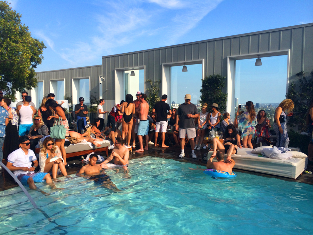 pool party skybar
