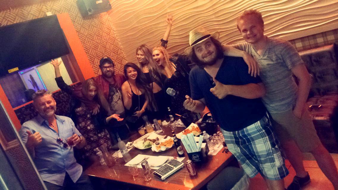 norske gjengen i Hollywood LA