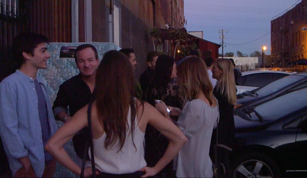 BESTIA line outside the restaurant