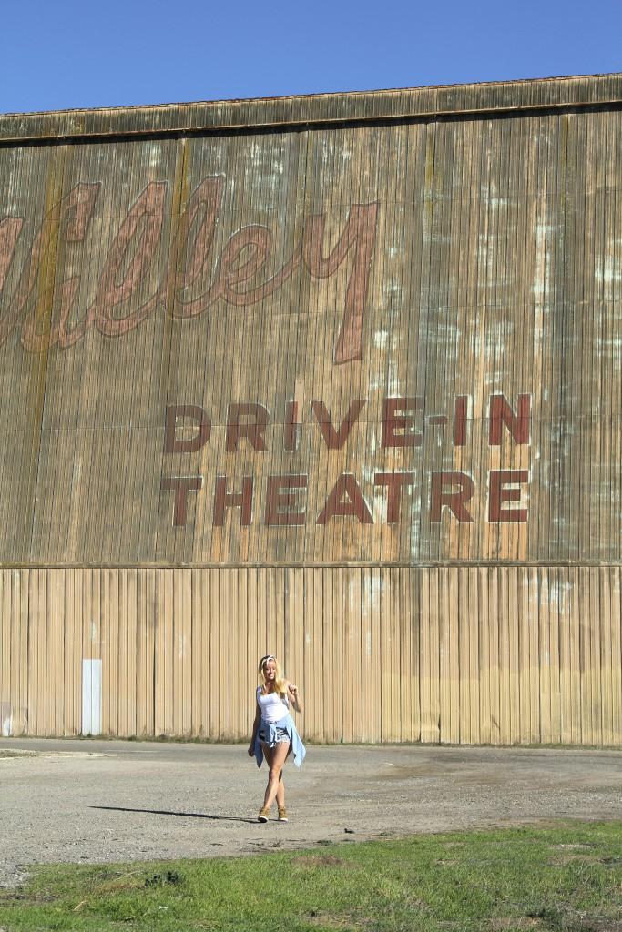 Drive in theatre California reiseblogg Positivista roadtrip Highway 1 4
