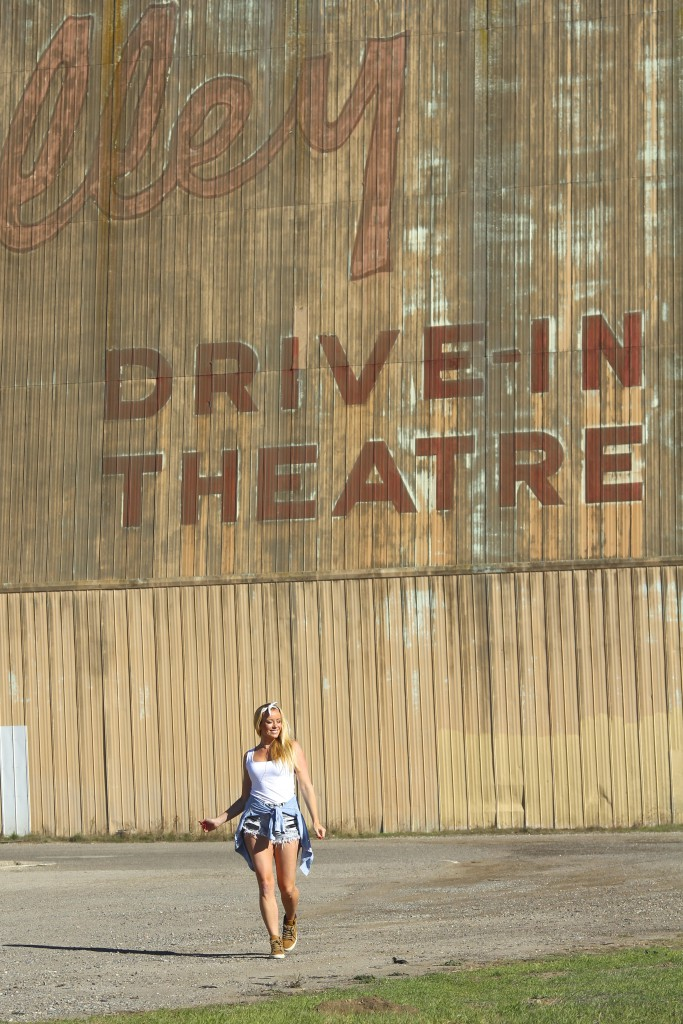 Drive in theatre California reiseblogg Positivista roadtrip Highway 1 5