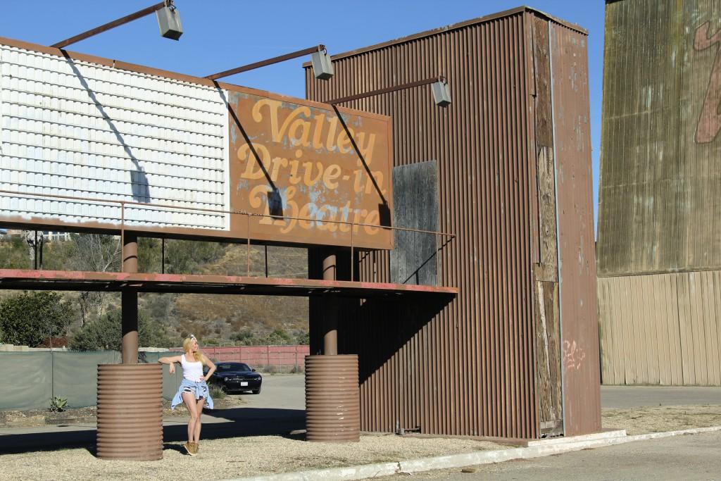 Drive in theatre California reiseblogg Positivista roadtrip Highway 1 6