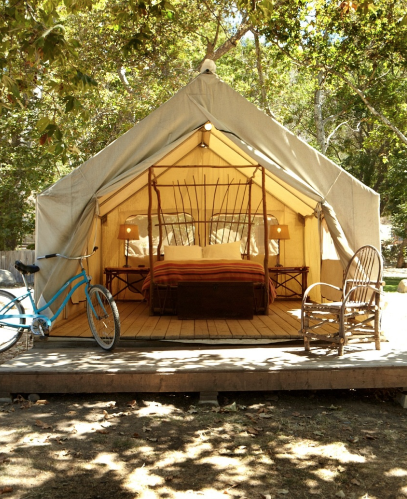 Glamping California overnatting highway 1