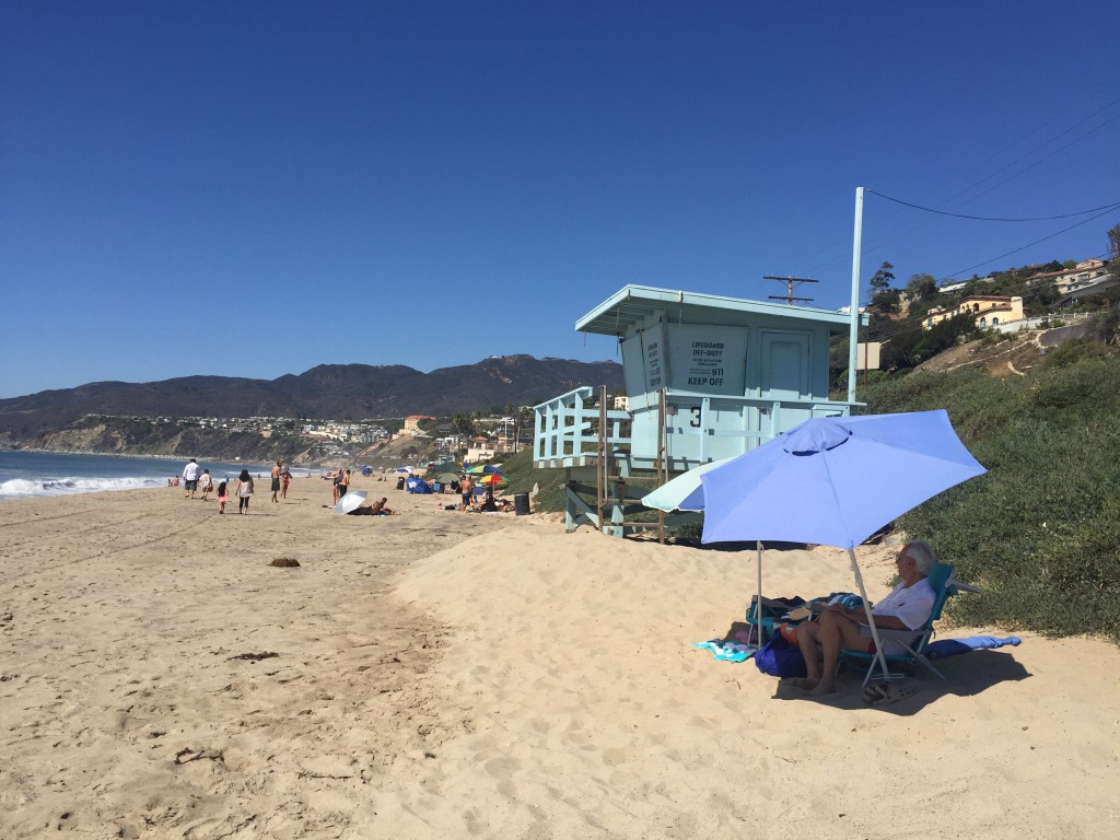 Pacific Palisades beach