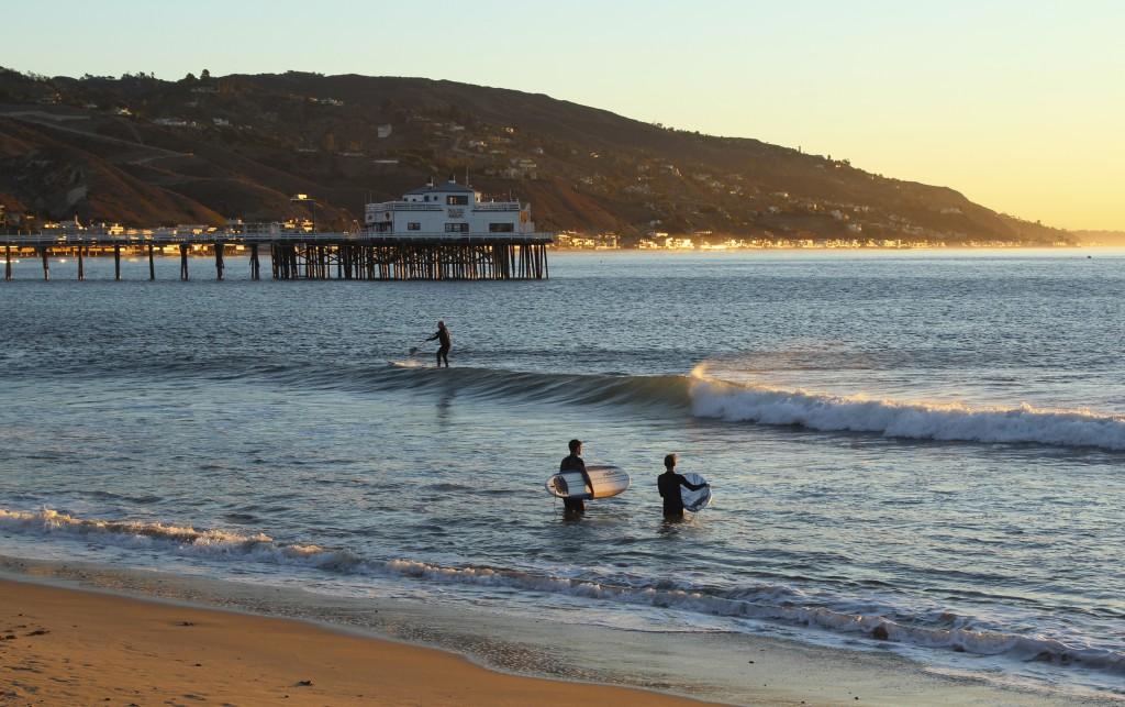 Malibu Positivista Reiseblogg Surf 1