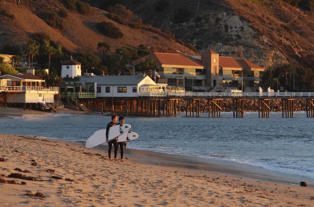 Malibu Positivista Reiseblogg Surf 5