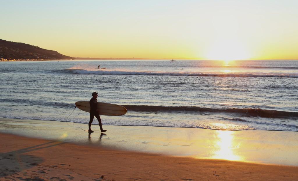 Malibu Positivista Reiseblogg Surf 7