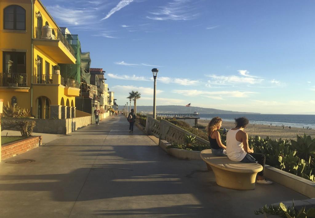 Manhatten Beach, best beach Positivista reisetips travel tips promenade beste strand sunset