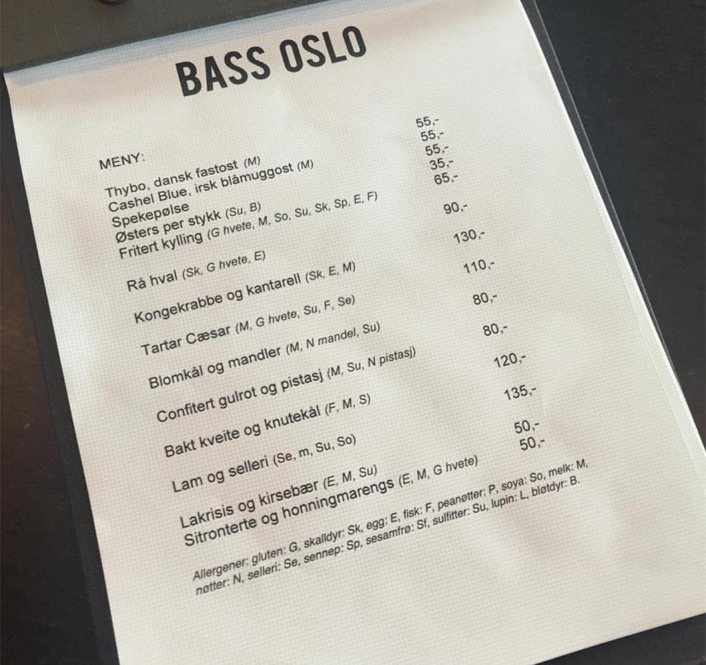 meny-bass-oslo
