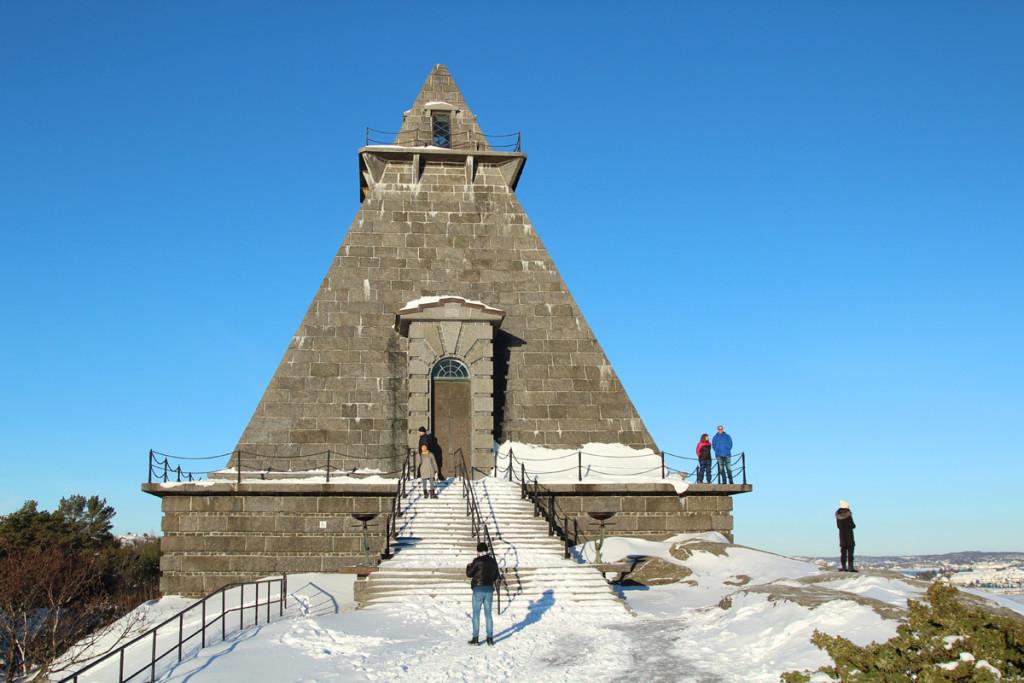 Minnehallen vinter stavern Larvik