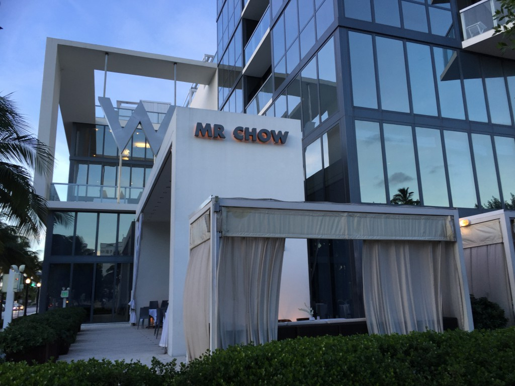 Mr chow bra restaurant miami reisetips