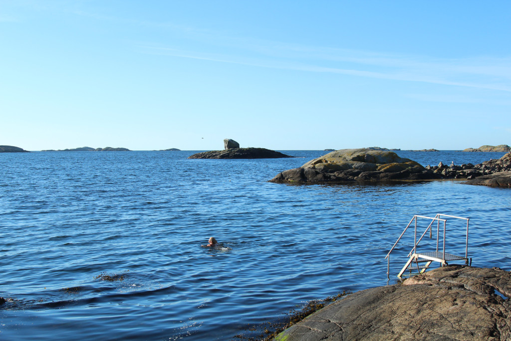Nevlunghavn Norway swim