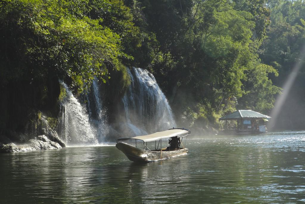 Positivista, reiseblogg, Merete Gamst, Steffen Trulsen, Kanchanaburi, Thailand, jungeltur, reise, Mellow Trek, jungle tour 2