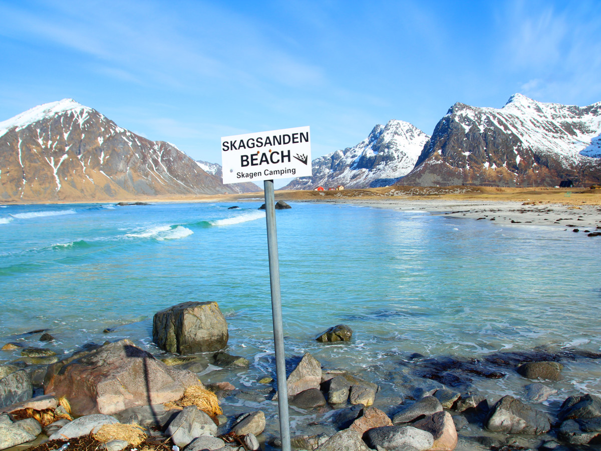 Skagensanden beach lofoten