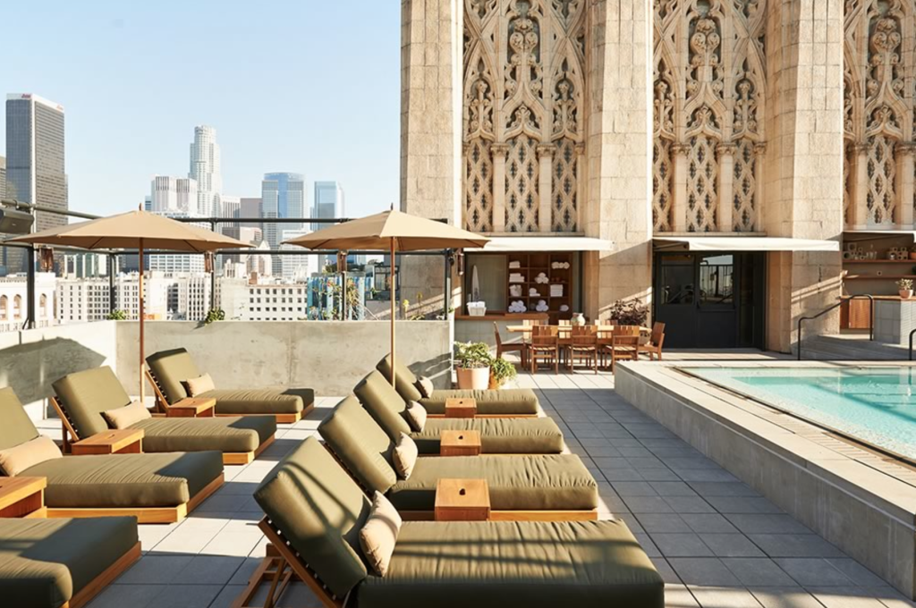 Ace Hotel rooftop