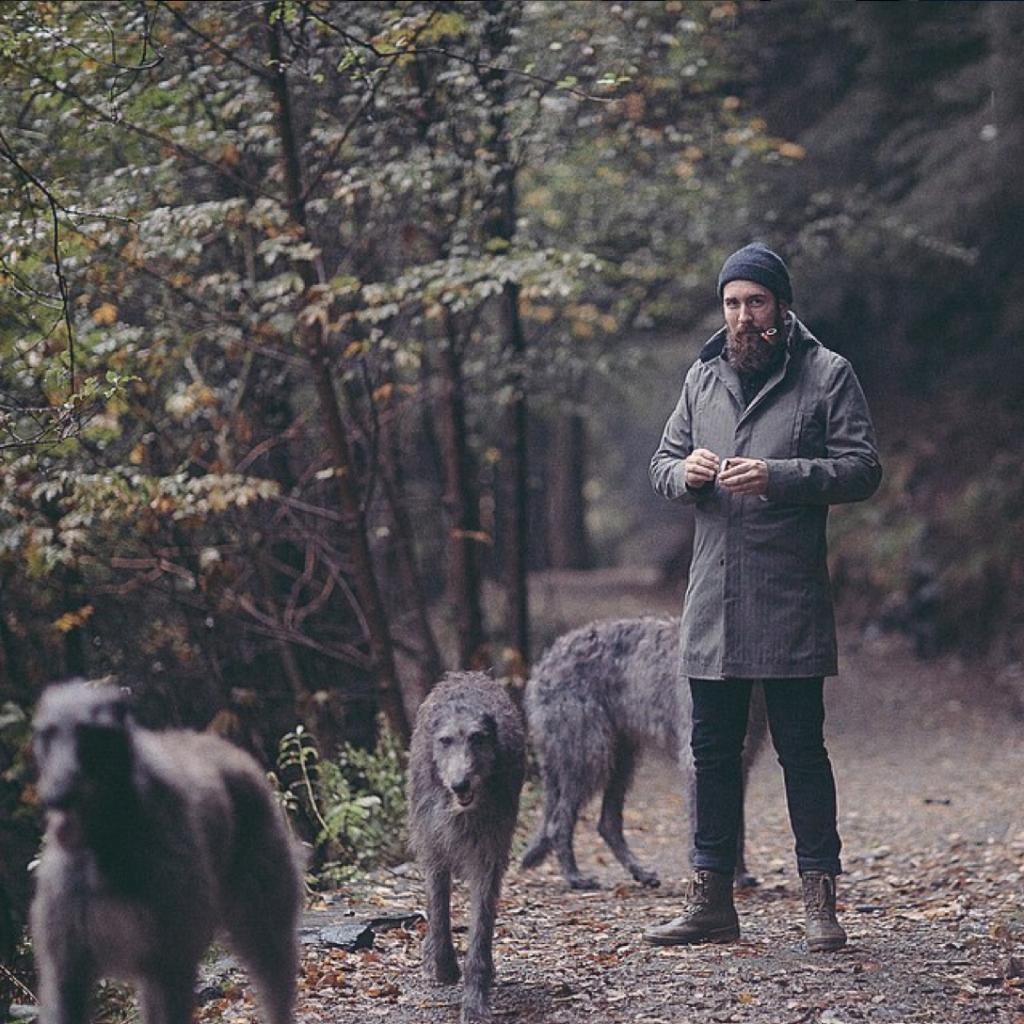 Dogs best man Norwegian Rain