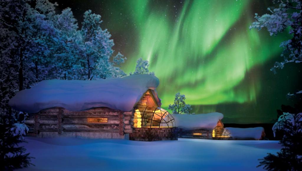 Kakslauttanen nordic light nordlys