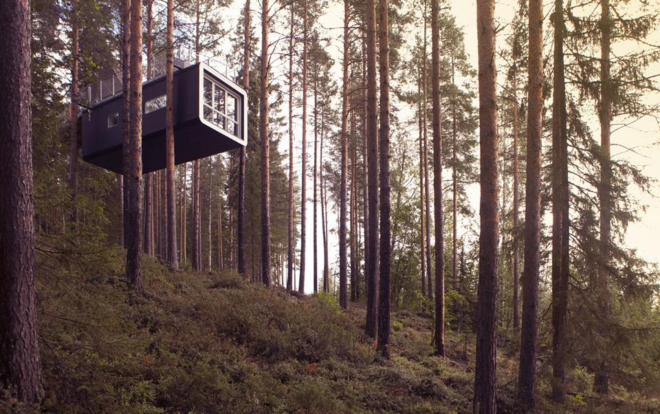 The cabin_exterior, trehytte, trehus, hotell, positivista, merete gamst, sverige, reiseblogg