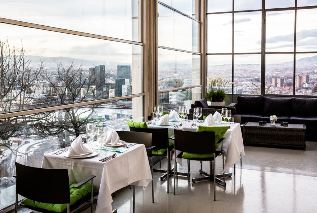 Utsikt Ekebergrestauranten Oslo