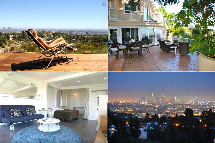 airbnb hollywood hills