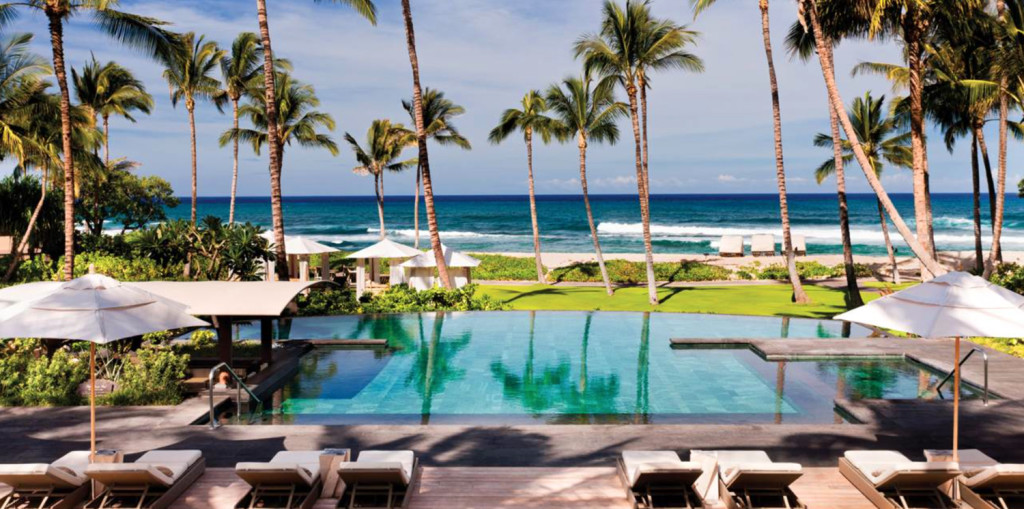 amazing hotels hawaii hualalai