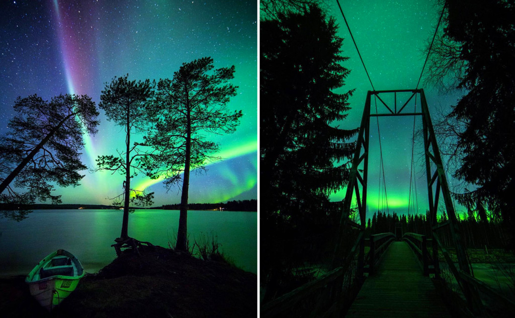 amazing northern lights iceland norway