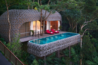 de beste trehytte hotellene i verden