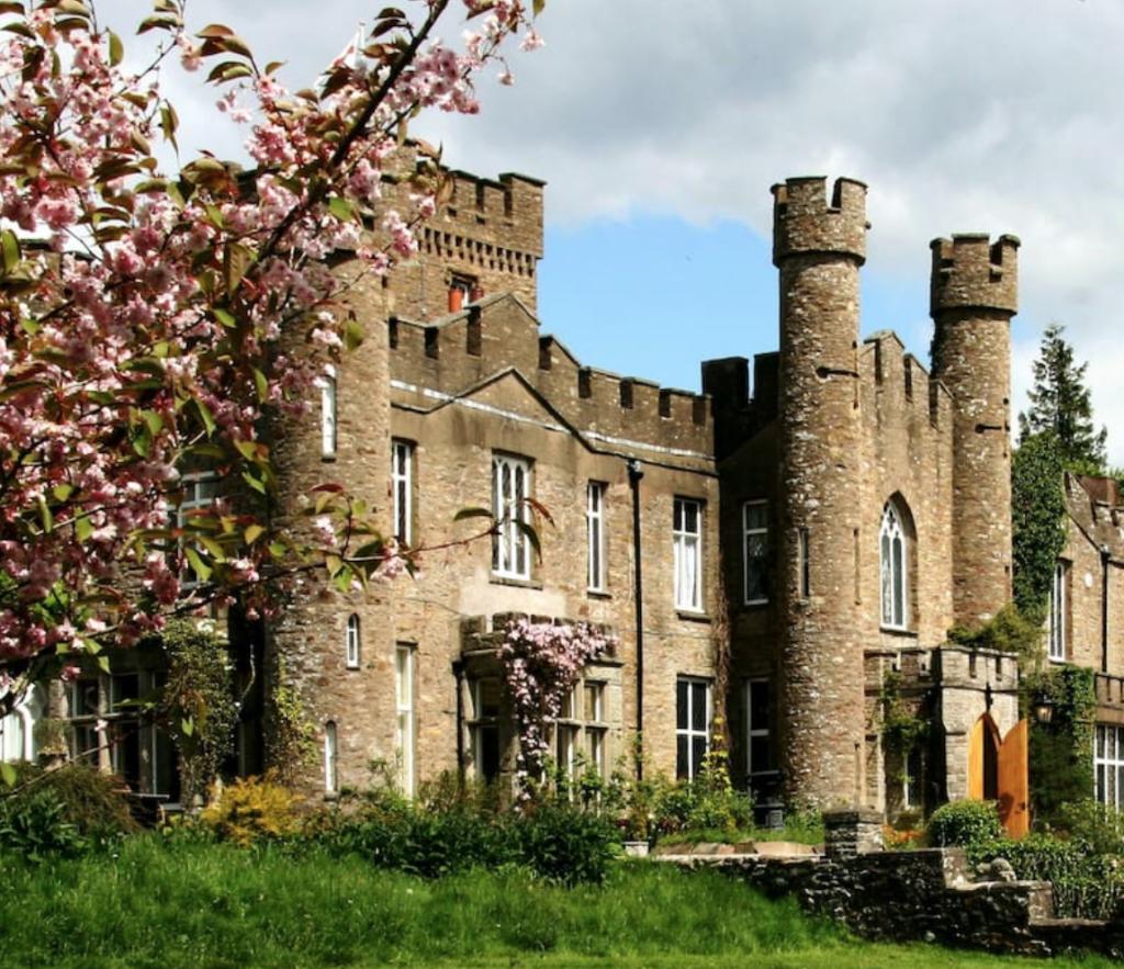 engelsk slott reiseblogg overnatting