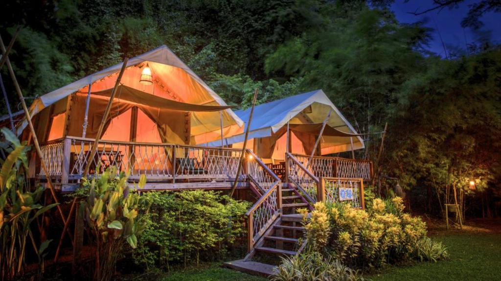 hintok river camping glamping thailand california
