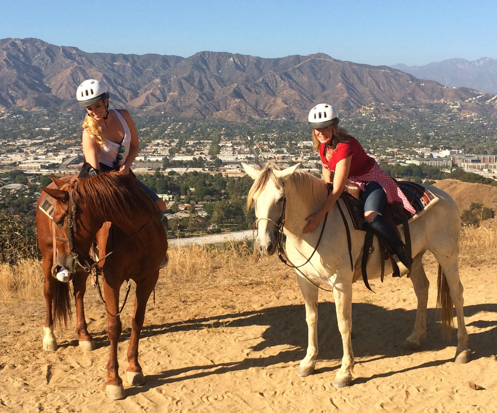 horse back riding hollywood hills