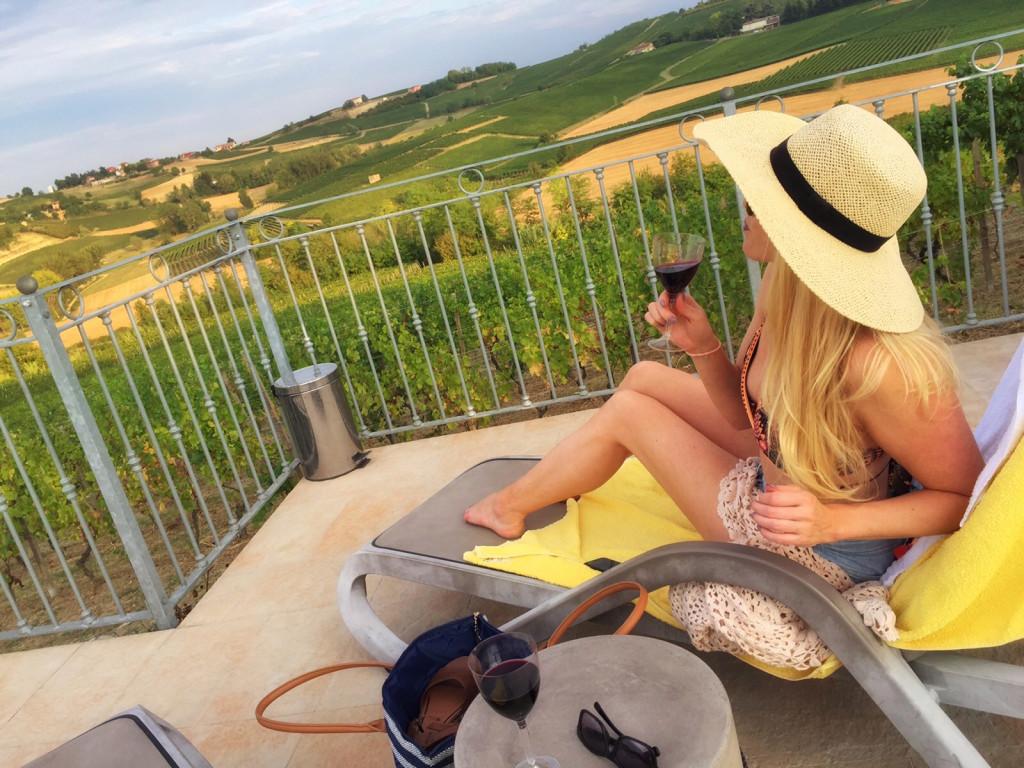 hotell italia vingård piemonte