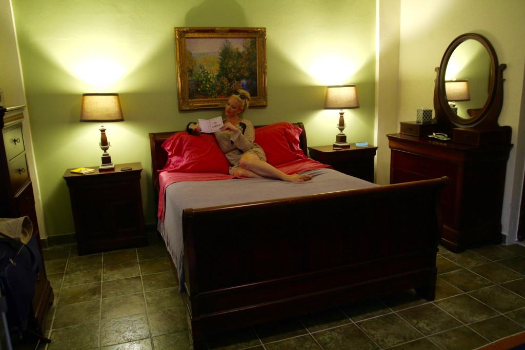 hotell puerto rico regnskogen overnatte