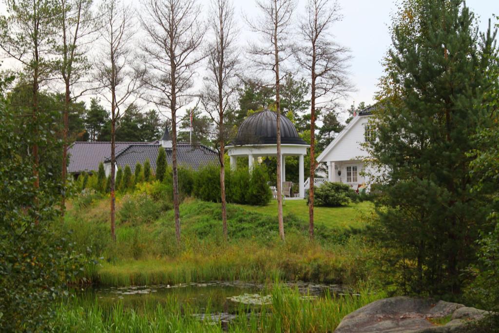 hus hevingen golfbane