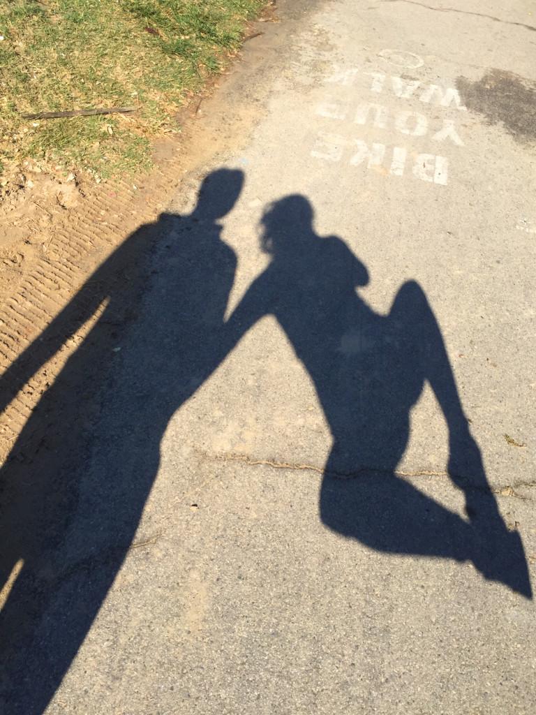 jump venice beach shadow
