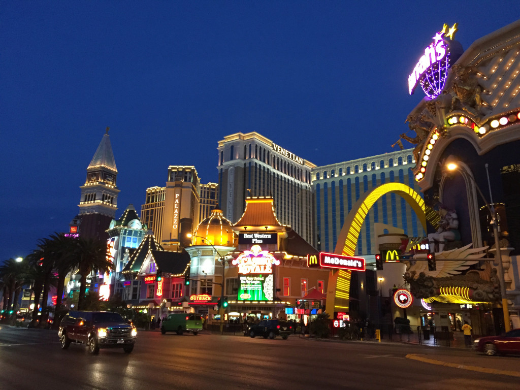 las vegas by night reiseblogg