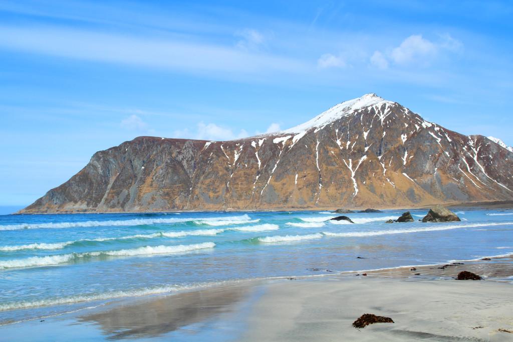 lofoten strand norge