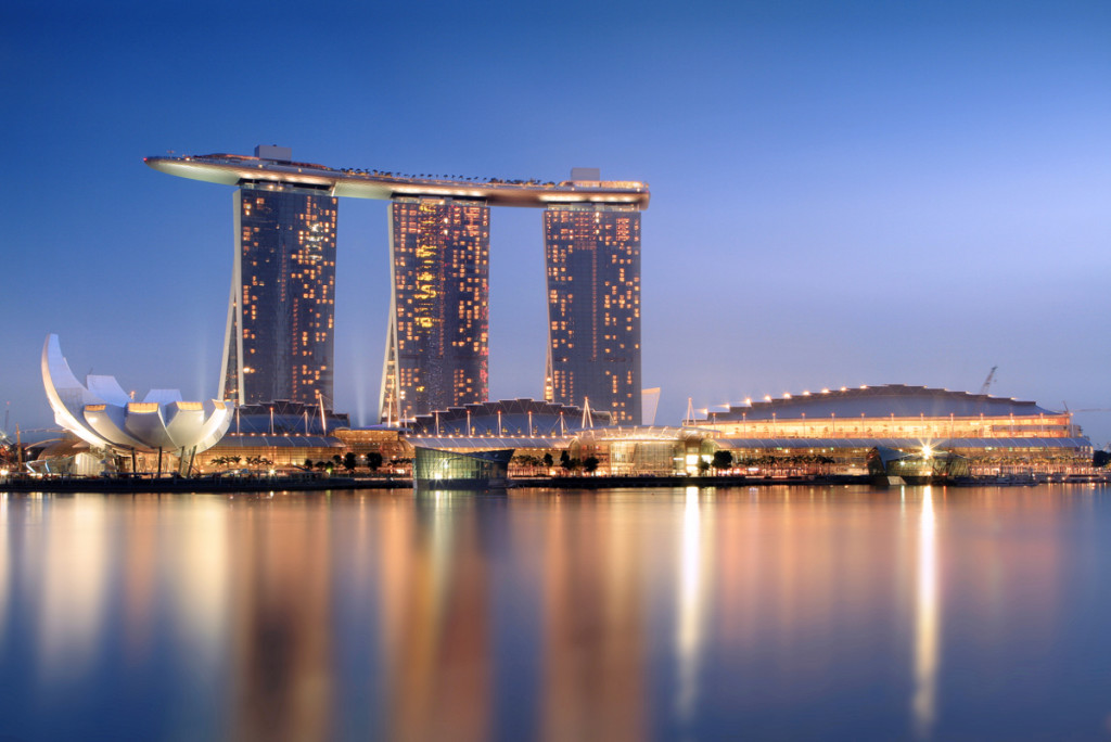 marina bay sands hotellbasseng